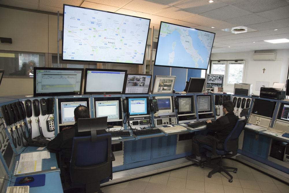Centrale operativa La Patria