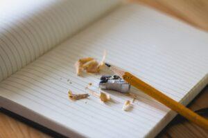 school and pencils